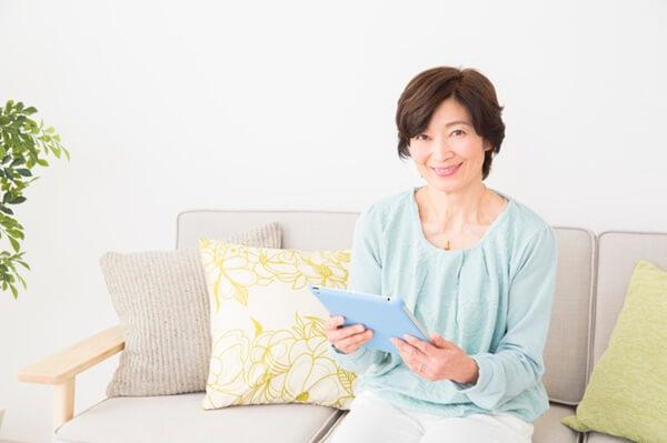 華の会メールを使う女性イメージ